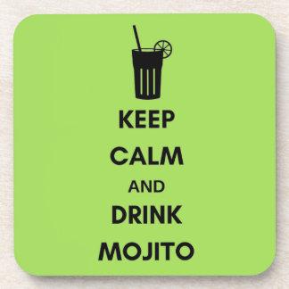 Below of Mojito glasses Drink Coaster