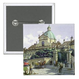 Below the Belvedere Palace in Vienna Button