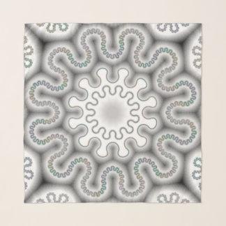 Below Zero -Chiffon Scarf by Vibrata
