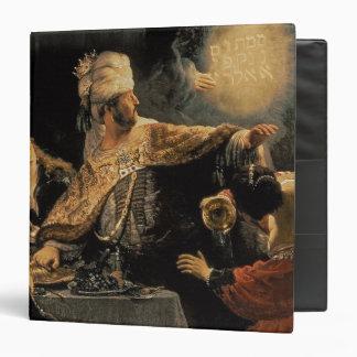 Belshazzar's Feast c.1636-38 3 Ring Binders