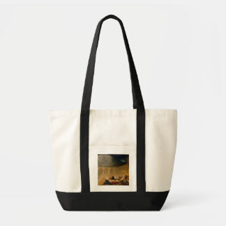 Belshazzar's Feast (oil on canvas) Canvas Bags