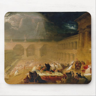 Belshazzar's Feast (oil on canvas) Mouse Pad