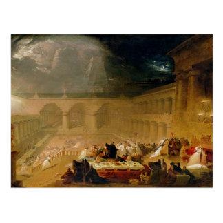 Belshazzar's Feast (oil on canvas) Postcard