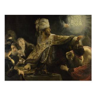 Belshazzar's Feast Postcard