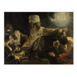 Belshazzar's Feast Postcards