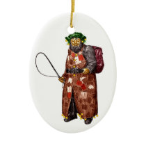 Belsnickel Ceramic Ornament