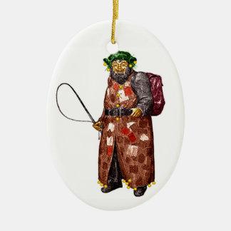 Belsnickel Ceramic Ornament