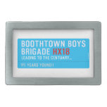 boothtown boys  brigade  Belt Buckle