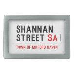 Shannan Street  Belt Buckle