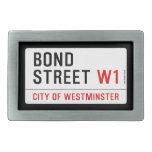 Bond Street  Belt Buckle