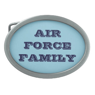 Belt Buckle Air Force Family