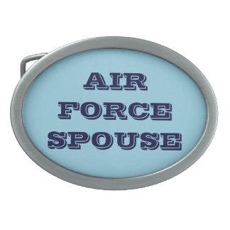 Belt Buckle Air Force Spouse