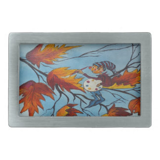 Belt Buckle Ann Hayes Painting Pixie Painting