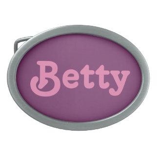 Belt Buckle Betty