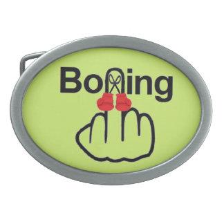 Belt Buckle Boxing Flip
