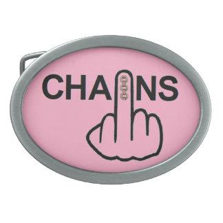 Belt Buckle Chains Flip