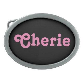 Belt Buckle Cherie