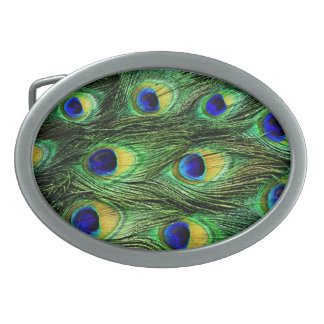 belt buckle, christmas,peacock