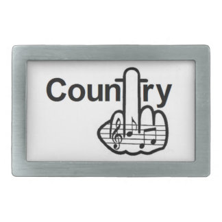 Belt Buckle Country Flip