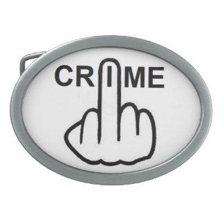 Belt Buckle Crime Is Criminal