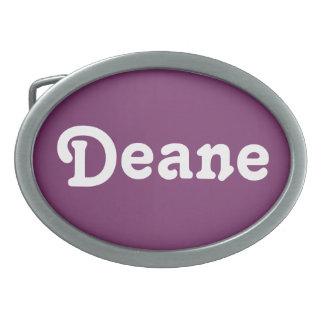 Belt Buckle Deane