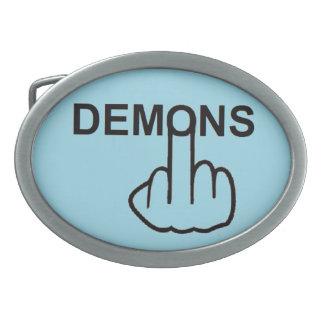 Belt Buckle Demons Flip