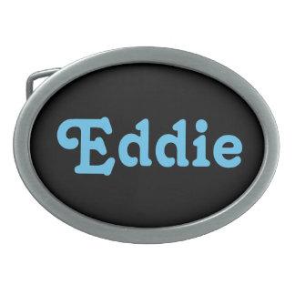 Belt Buckle Eddie