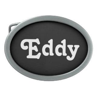 Belt Buckle Eddy