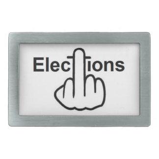 Belt Buckle Elections Flip