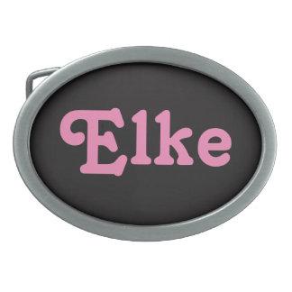Belt Buckle Elke