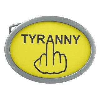 Belt Buckle Evil Tyranny