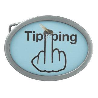 Belt Buckle Fly Tipping Flip