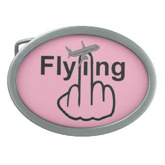 Belt Buckle Flying Flip