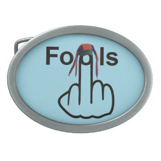 Belt Buckle Fools Flip