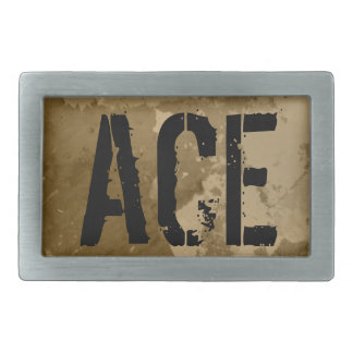 Belt buckle for men with custom text | ACE