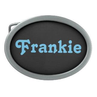 Belt Buckle Frankie