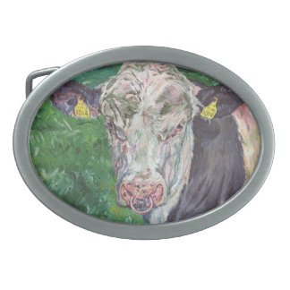 Belt Buckle - Friesian Bull
