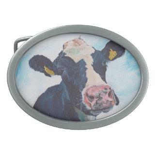 Belt Buckle - Friesian Cow