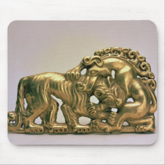 Belt buckle, from a Siberian collection of Peter Mouse Pad