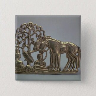 Belt buckle, from Siberian collection of Peter Pinback Button