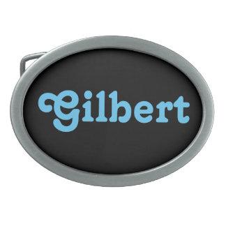 Belt Buckle Gilbert