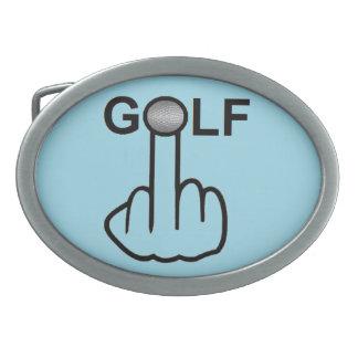 Belt Buckle Golf Flip