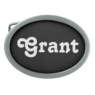 Belt Buckle Grant