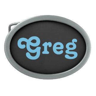Belt Buckle Greg