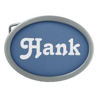 Belt Buckle Hank