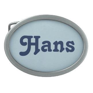 Belt Buckle Hans