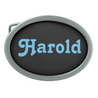 Belt Buckle Harold