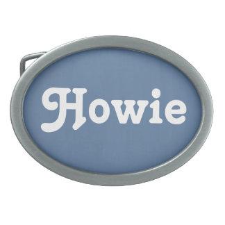 Belt Buckle Howie