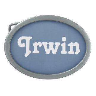 Belt Buckle Irwin