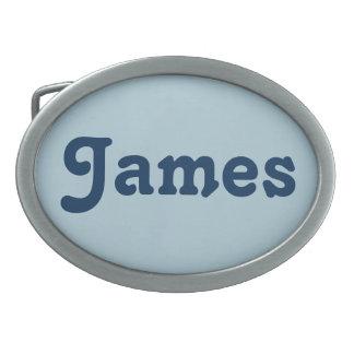 Belt Buckle James